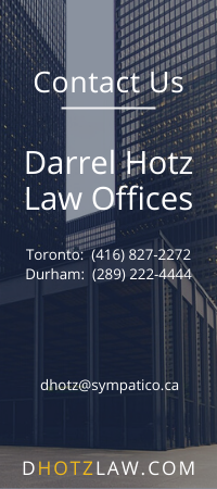 Contact D Hotz Law - Sidebar Banner